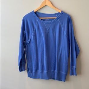 J crew sweatshirt blue